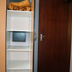 Build-in safe, main bedroom - Kudu Apartment