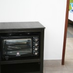 Kitchenette - oven on trolley